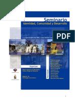Libro Seminario Identidad y Cultura
