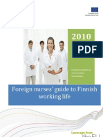 Foreign Nurses Guide to Finnish Working Life