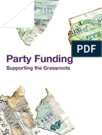 Party Funding Supporting the Grassroots