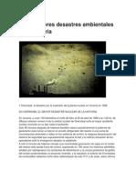 Los 10 Peores Desastres Ambientales de La Historia COMPLETA