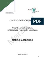 Modelo Academico
