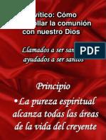 Levítico santidad practica XII IBE Callao