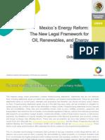 Mexico's Energy Reform - New Legal Framework