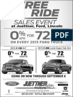 Juettner Motors Alexandria MN Ford and Lincoln Offers