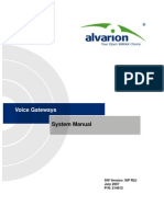 Voice Gateways R2J System Manual_070723