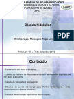 Cálculo hidráulico.ppt