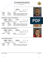Peoria County booking sheet 08/09/13