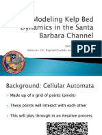 Modeling Kelp Forest Dynamics in the Santa Barbara Channel