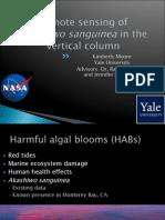 Remote Sensing of Akashiwo sanguinea in the Vertical Column