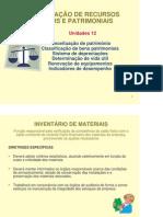 Adm Materiais - Unidade 12