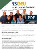 Open Letter to Nova Scotians from NSGEU members working for the Nova Scotia Liquor Corporation (NSLC)