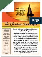 August 11 Newsletter