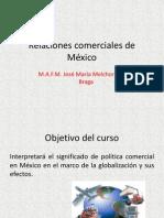 Relaciones comerciales de México