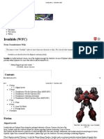 Ironhide (WFC) - Transformers Wiki