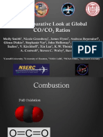 A Comparative Look at Global CO/CO2 Ratios
