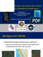 Tree Species Classification in the Southern Sierra Nevada Mountains Based on MASTER and LIDAR Imagery