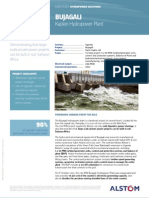 Bujagali Uganda Kaplan Hydro Plant Case Study