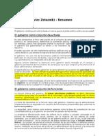 zelanik_-_gobierno_-_resumen