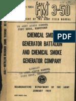 Fm 3-50 Chemical Smoke Generator Company, Jan 1959