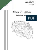 Motor Scania 124 Eletronico
