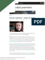 Rachel Marsden – Come On Down