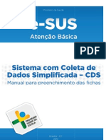 Manual Para Preenchimento Das Fichas