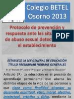 Protocolo de prevención y respuesta ante las situaciones