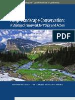 Large Landscape Conservation