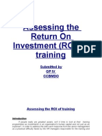 Assessing the ROI of training