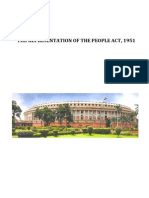 Notes the Representation of the People Act, 1951 (an Analysis)