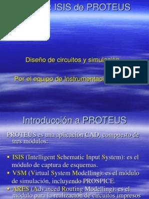 Tutorial Isis Proteus Ppt Ventana Computación Point