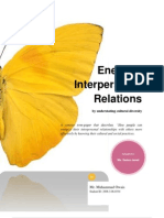 Energize Interpersonal Relations