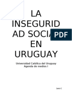 La Inseguridad Social en Uruguay