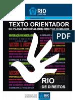 Texto Orientador Do Plano Municipal Dos Direitos Humanos RJ