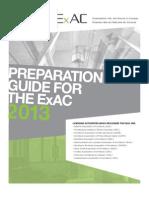 Guide Preparation en 2013