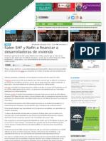 06-08-13 SALEN SHF Y NAFIN A FINANCIAR DESARROLLADORAS DE VIVIENDA