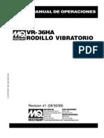 Roller VR36HA Spanish REV 1