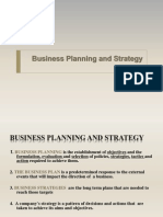 Business Plans & SWOT + PEST + Porter's
