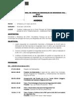 Agenda i Encuentro Nacional Crsv-2013- Piura