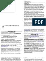 August 11 Common Bulletin