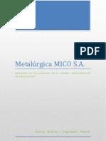 Administración de operaciones - MICO