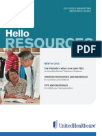 2013 Field Marketing Resource Guide