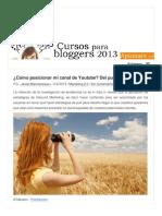 Www Bloguismo Com Marketing 2 0 Como Posicionar Canal Youtube Push Pull