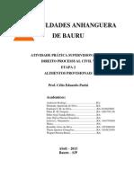 Atps Processo Civil Etapa 2