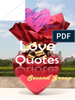 Love Quotes - 2nd. Group