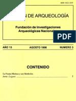 Boletín arqueología Muisca - 1998 Anne Legast