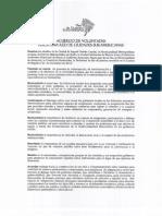 Redcisur - Acuerdo de Voluntades