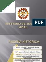 Diapositivas Ministerio de Energia y Minas