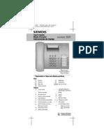 Euroset 2020 telephone user manual eng   telephone   telephony.