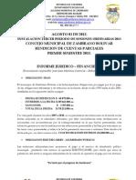 1er Informe de Gestion 2013